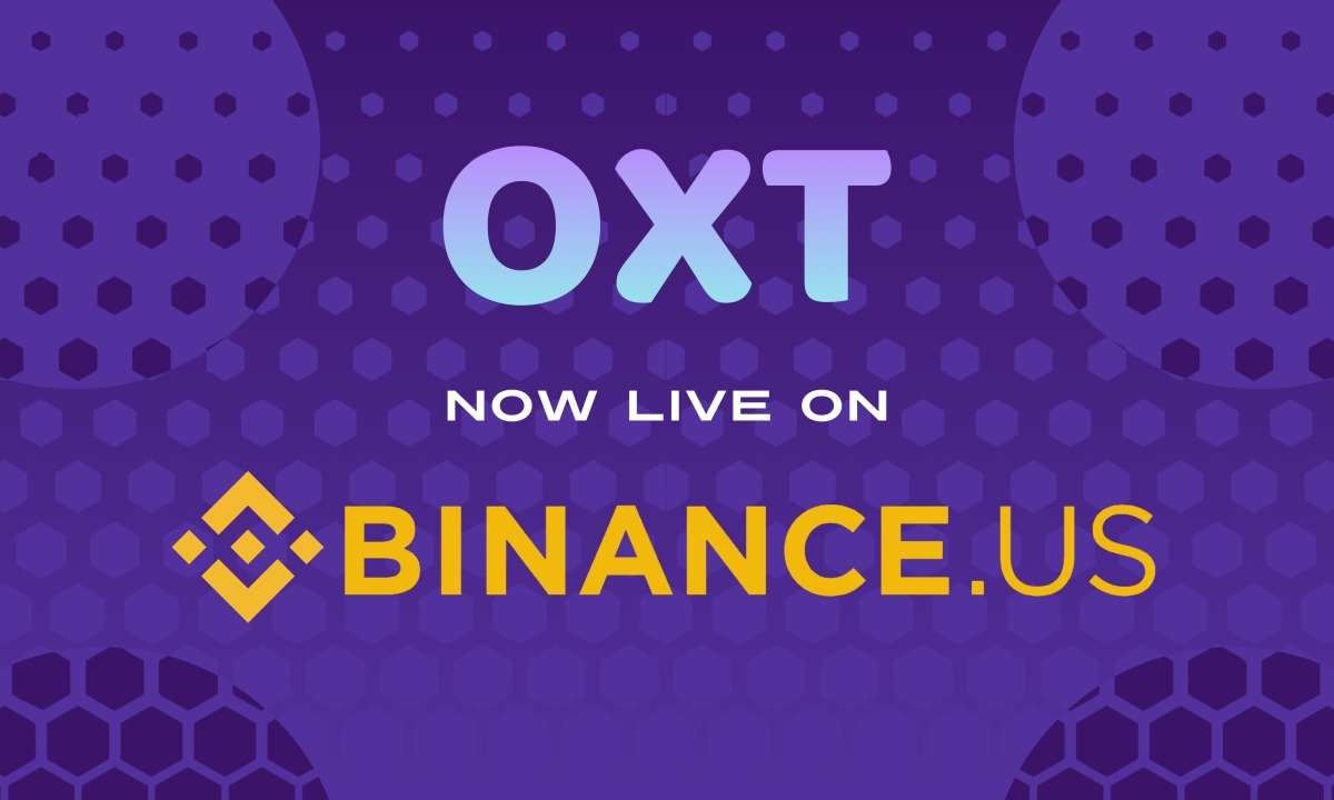 Binance US lists Orchid digital asset OXT